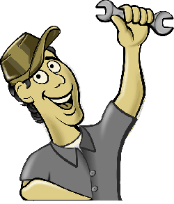 flat, icon, mechanic, repair, plumber, mechanical