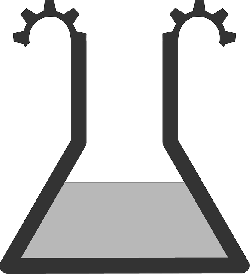 flat, icon, science, theme, potion