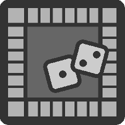 flat, icon, theme, action, monopoly