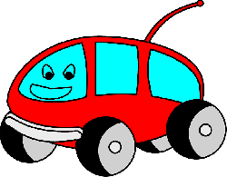 flat, icon, van, camper, car, cartoon, vehicle, kart