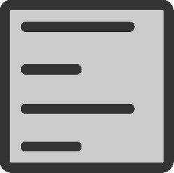 flat, left, text, align, paragraph, editor, icon