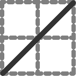 flat, square, border, grey, diagonal, dotted, icon, dot