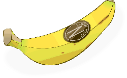 food, fruit, yellow, cartoon, banana, bananas, plant