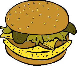 food, menu, cartoon, fish, free, burger, chicken, fat