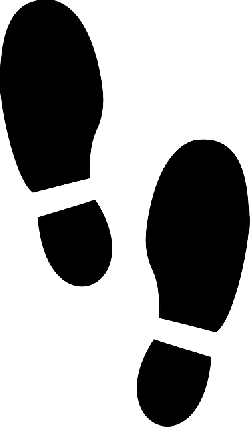 footprints, men, prints, shoes, silhouette, male, heels