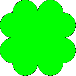 four-leaf clover, shamrock, luck, fortune, rare, green