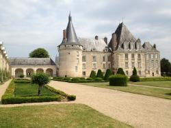 france, chateau, landmark, historic, architecture
