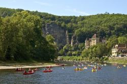 france, people, boating, canoeing, canoes, mountains