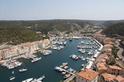 france, sea, bank, nature, water, corsica, port