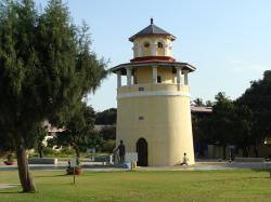freedom park, bangalore, karnataka, watch tower, india