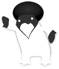 funky, penguin, tux, animal, dance, disco, suit