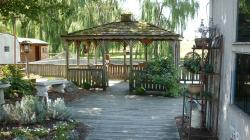 gazebo, pennsylvania, country, countryside