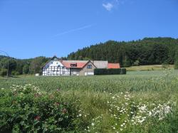 germany, landscape, hills, forest, trees, woods, house