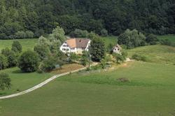 germany, landscape, scenic, summer, spring, house, home