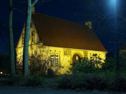 germany, night, evening, house, home, building