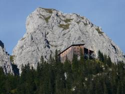 gimpelhaus, mountain hut, hut, mountain, nesselwängle