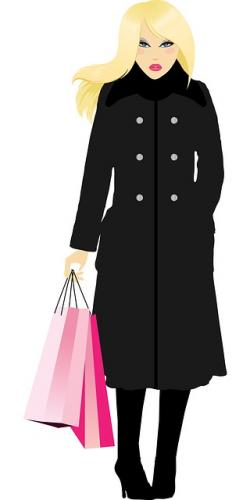 girl, woman, lady, female, shopping, shopping bags