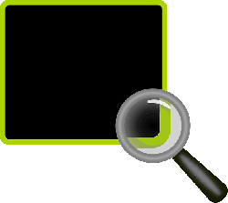 glass, magnifier, loupe, information, board