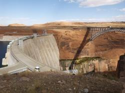 glen canyon dam, power plant, colorado river