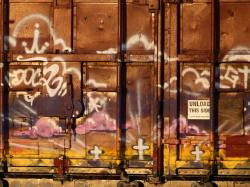 graffiti, art, colorful, rail wagon, painting