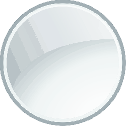 gray, icon, glass, glossy, circle, white, picture