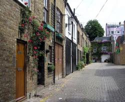 great, britain, england, town, alley, old town, passage