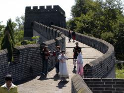 great wall of china, defensive walls, building, china