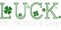 green, icon, shamrock, march, luck, day, clover, lucky