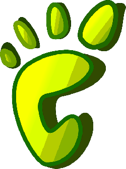 green, icon, yellow, theme, apps, footprint, imprint