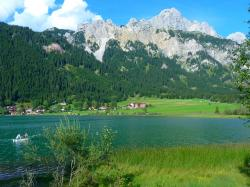 haldensee, see, mountains, water, landscape, nature