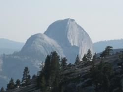halfdome, olmstead point, yosemite, california