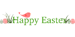 happy, banner, spring, bird, holiday, easter, cute