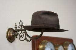 hat, trilby, coatrack, hat rack, hat stand, clothing