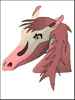 head, farm, horse, hair, animal, ears, mammal