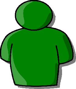 head, green, icon, outline, symbol, people, man, person