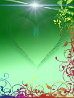 heart, love, luck, abstract, greeting, greeting card