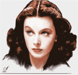 hedy lamarr, actress, woman, usa, inventor, female