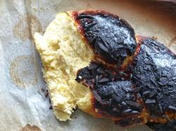 hefekranz, easter braid, burned, black, burnt, charred