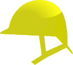 helmet, protection, safety, yellow