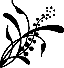 henna, vines, swirl, artwork, silhouette, digital art