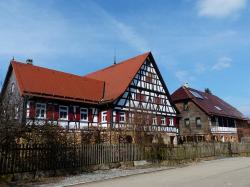home, fachwerkhaus, farmhouse, hof, farm, building