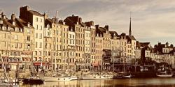 honfleur, sea, france, normandy, holiday, travel, port