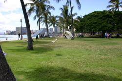honolulu, beach, hawaii, park