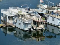 house boats, lake, water, boating
