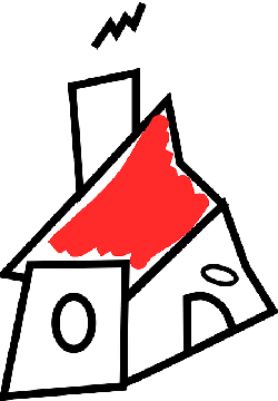 house, home, estate, sketch, simple
