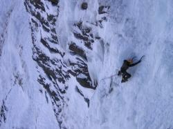 ice climbing, mountaineering, alpine, climb, mountains