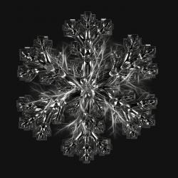 ice crystal, snowflake, ice, form, frost, fabric, grid