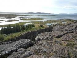 iceland, nature, landscape, tectonic plate warp
