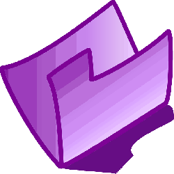 icon, folder, purple, violet, theme
