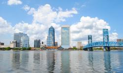jacksonville, florida, bay, harbor, water, reflections
